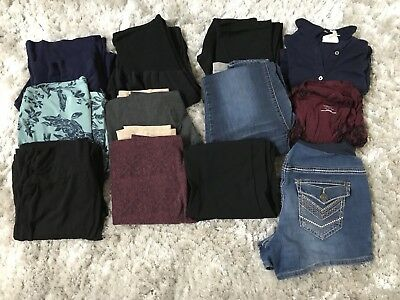 65a710c70694d Lot of Size XS S Maternity Clothes 12 Pieces (Motherhood Maternity and  Other)
