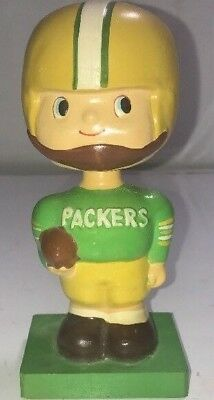 Vintage 1960's Green Bay Packers Nodder Made In Japan Super RARE! Aaron Rodgers