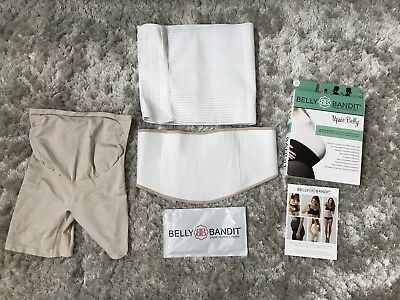 Belly Bandit Upsie Belly Thighs Disguise Pregnancy Post Support Belt Size Small