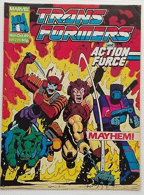 Transformers UK Comic Issue 239