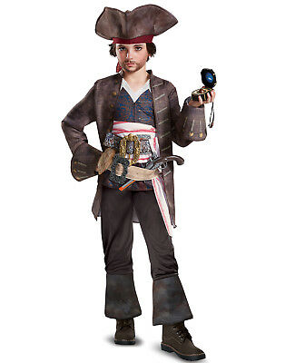 Gr Piraten Pirat Jack Mantel Ca Sparrow Kostüm Disney 134 Captain OF8YOq