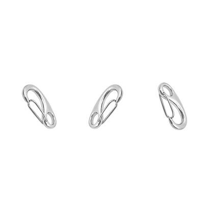 3PCS Marine 316 Stainless Steel Spring Clip Snap Hook for Marine Boat Yacht