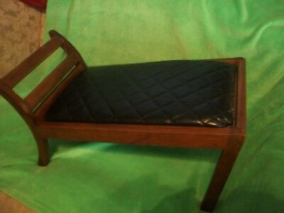 Prime Antique Gout Stool Medical Original Wood And Leather Ocoug Best Dining Table And Chair Ideas Images Ocougorg