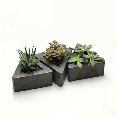 DIY Candles Silicone Mold Flower Pot Mould Handmade Succulent Plant Moulds