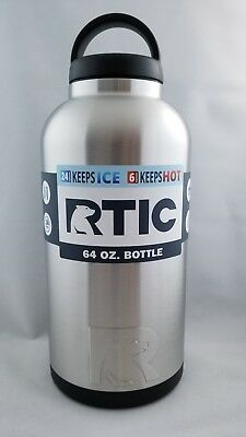 2b2da355efd RTIC 64OZ STAINLESS Steel Bottle/ NEW/ FREE-QUICK SHIPPING - $33.50 ...