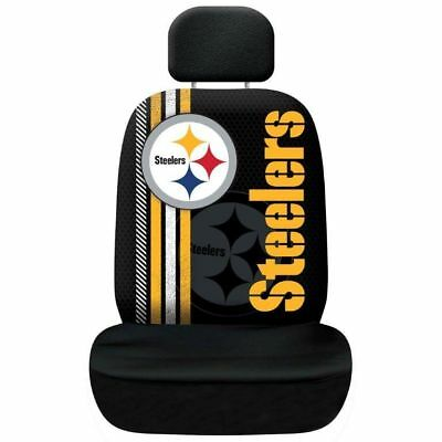 Pittsburgh Steelers NFL Team Logo Printed Car Seat Cover Officially Licensed New