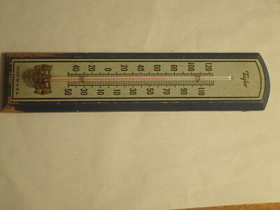 """Vintage 8"""" Long Taylor Wooden Thermometer/made In Usa"""