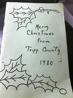 WINNER South Dakota Tripp County* Cook Book Extension Club 1980  Pamphlet