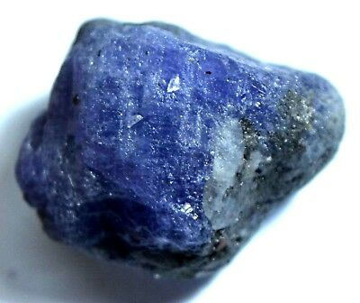 78.20 Ct Natural Violet Blue Tanzanite Untreated AGSL Certified FACET  Rough