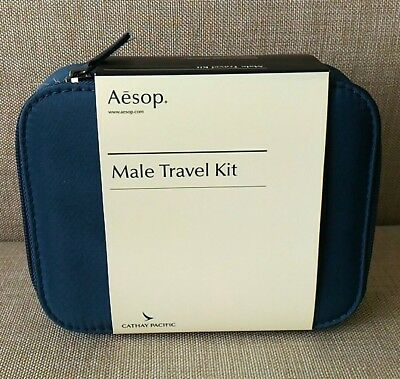 New Sealed Cathay Pacific First Class Male Amenity Kit By Aesop - A