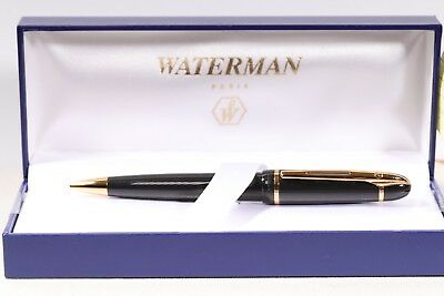 Waterman Phileas Ball Point pen, Black, GT, NOS, box, refill, papers, RARE, LOOK