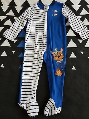 Boys new PAWS PATROL sleep suit size 00