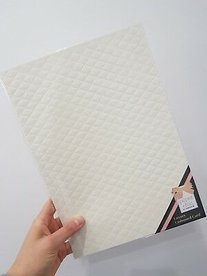 5 x CRISTINA RE ivory textured paper cardstock A4 pack wedding invitations