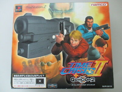 PS2 TIME CRISIS II 2 Guncon + Disc Boxed Controller JAPAN No.3