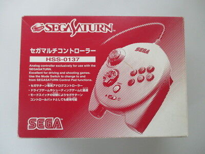 SS Sega Saturn Multi Controller HSS-0137 Boxed JAPAN No.4