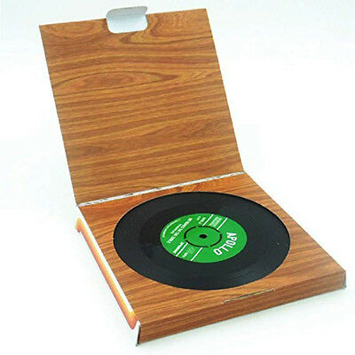 6x Creative Vinyl Record Cup Drinks Coaster Holder Mat Home Placemat Tableware