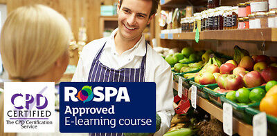 food safety & hygiene level 2 accredited online training course.