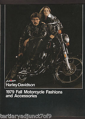 1979 AMF Harley-Davidson Fall Motorcycle Fashions and Accessories Catalog