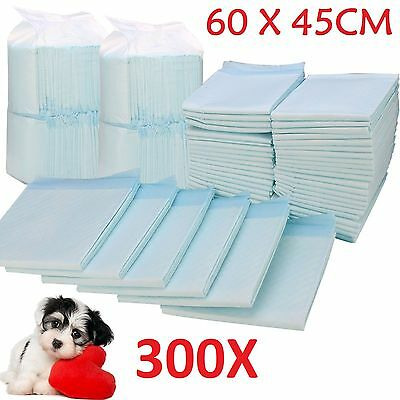 300 X Large House Puppy Dog Cat Pet Potty Training Pads Large Pee Train Pad Mats