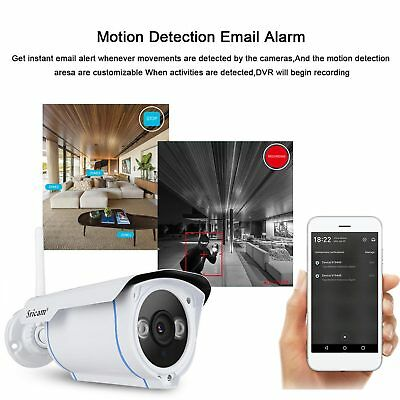 Sricam Wireless 1080P HD IP Network Camera Outdoor CCTV Security IR Night Wifi