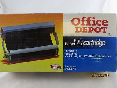 Office Depot Replacement Fax Cartridge For Panasonic KX-FA65