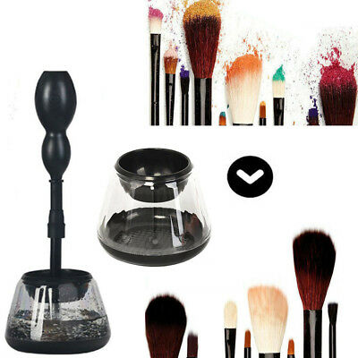 Electric Makeup Cosmetic Brushes Brush Cleaner Dryer Kit Wash Machine Tools Set