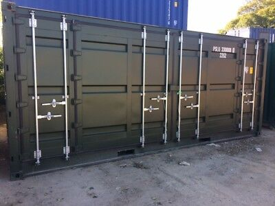 20ft Open Sided / Full Side Access Shipping Container,  £3700.00+vat
