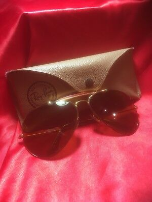 Ray Ban  Bausch Lomb  Aviator Edition  Limited  Turtle  In Box  Vary Good