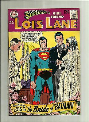 Supermans Girlfriend Lois Lane #89 1969 Silver Age Dc Comics The Bride Of Batman