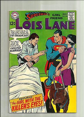 Supermans Girlfriend Lois Lane #88 1968 Silver Age Dc Comics  Neal Adams Art