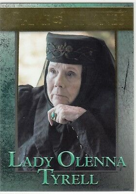 Game Of Thrones Staffel 6 Gold Parallel #64 Lady Olenna Tyrell 112/150