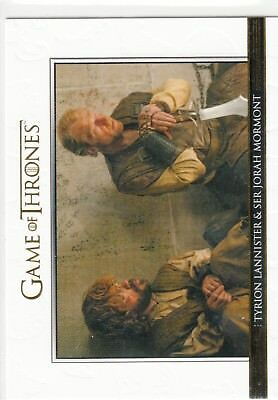 Game Of Thrones Staffel 5 Relationships Gold #DL27 Tyrion & Mormont 076/225