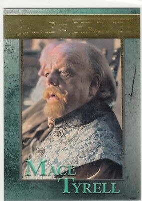 Game Of Thrones Staffel 5 Gold Parallel #71 Mace Tyrell 024/150