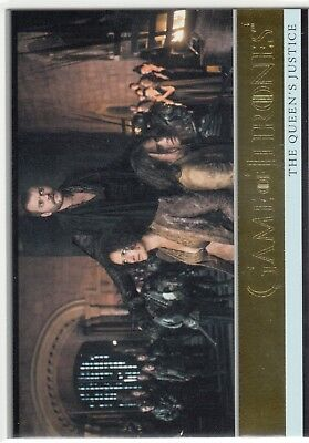 Game of Thrones Season 7 Gold Parallel #8 The Queen's Justice 046/150