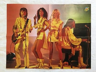 Abba Poster Netherlands Holland Hitkrant Poster 1970s 1980s