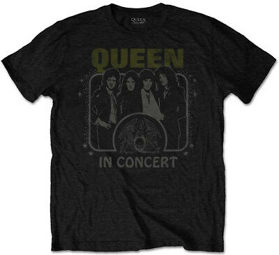Queen 'In Concert' T-Shirt - NEW & OFFICIAL!