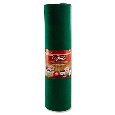 Icon Craft 45cm X 5m Roll Felt - Green