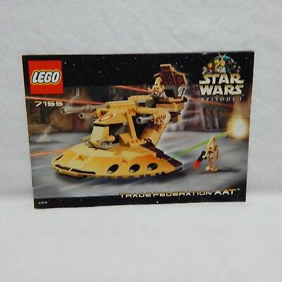 Lego Star Wars 7155 Trade Federation Aat 2000 New Free Next Day