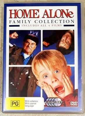 Home Alone 5 Movie Collection Brand New Region 4 Dvd 17 99