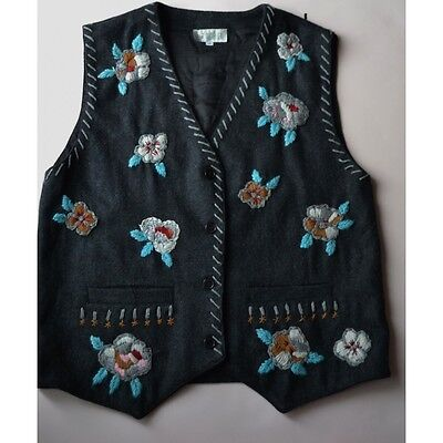 GILET DONNA IN STILE TIROLESE Tg.46/48 Thogether