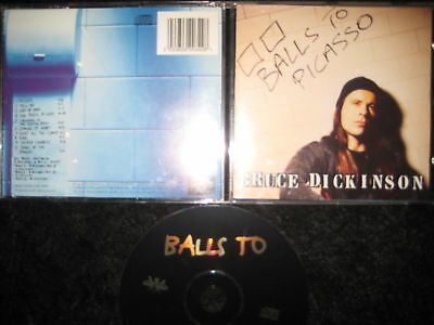 CD Bruce Dickinson – Balls To Picasso --- Iron Maiden