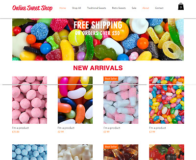 Sweets Business for sale | Website & Wholesale Suppliers | Very Profitable
