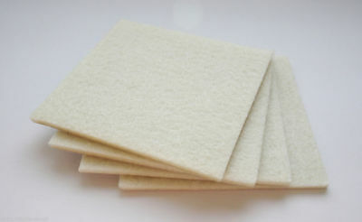 Felt Self Adhesive Pads Protects Wood Vinyl Laminate Floors Square Pack 4SQ