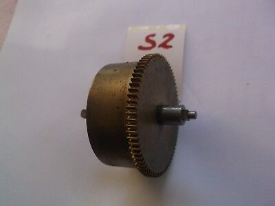 Mainspring Barrel  From An Old 4X4 Westminster Chime   Mantle Clock  Ref S2