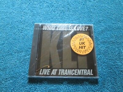 THE KLF--What Time Is Love? Live At Trancentral--CD--New, Sealed