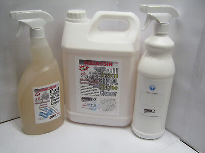 ASSASSIN Strong ENGINE CLEANER & DEGREASER Cleaning Oil Grease Ready To Use 1 5L