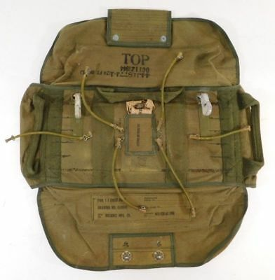 WWII U.S. Army Airborne Parachute Pack Dated 1944