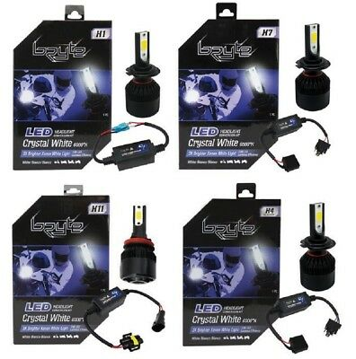 LAMPADINE BRYTE MOTO  Led Headlight Conversion Kit  H1 H4 H11 H7 6000K HIGH/LOW