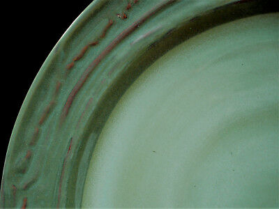 """Willow Lane Green by Linden Street DINNER PLATE 11 1/8"""""""