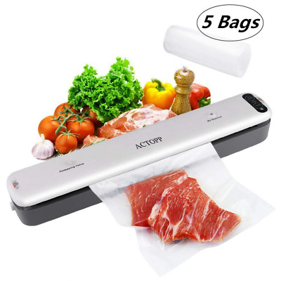 Portable Automatic Sealing System for Food Preservation Vacuum Sealer Machine US